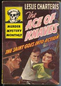Murder Mystery Monthly #22 1944-Avon-The Saint-Leslie Chambers-VG