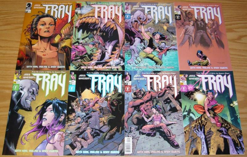 Joss Whedon's Fray #1-8 VF/NM complete series - dark horse comics - joss whedon
