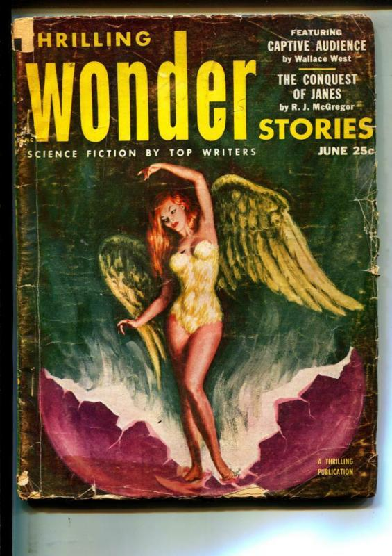 Thrilling Wonder Stories-Pulps-6/1953-Murray Leinster-Wallace West