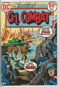 G.I. Combat #166 (Nov-73) FN- Mid-Grade The Haunted Tank