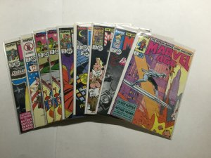 Marvel Age 71-78 71 72 73 74 75 76 77 78 Lot Run Set Near Mint Nm Marvel