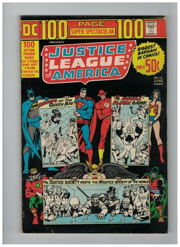 DC 100 PAGE SUPER SPECTACULAR DC-17 VG  Justice League