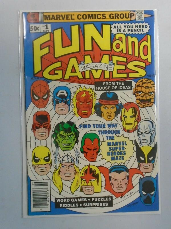 Marvel Fun and Games #1 6.0 FN (1979)
