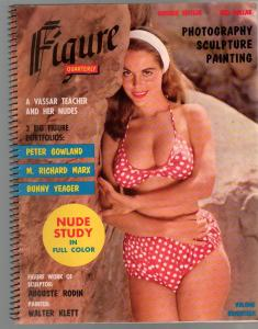 Figure Quarterly #17 1957-Cheesecake pix-Bunny Yeager portfolio-pin-ups-FN