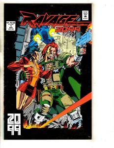 Lot Of 11 Ravage 2099 Marvel Comic Books # 1 2 3 4 5 6 7 (2) 8 9 10 DB11