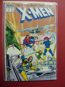 THE OFFICIAL MARVEL INDEX TO THE X-MEN  #3 (9.0 to 9.2 or better)  MARVEL COMICS