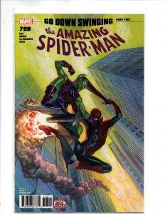 Marvel Comics Amazing Spider-Man #798 Alex Ross Cover GREEN GOBLIN HAS RETURNED