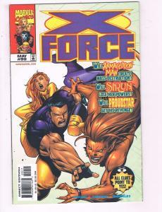 X-Force #90 VF Marvel Comics Comic Book X-Men Cable 1999 DE20