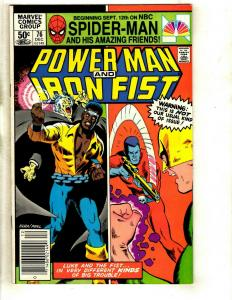 8 Power Man and Iron Fist Marvel Comics # 76 78 79 80 81 82 83 85 WS6