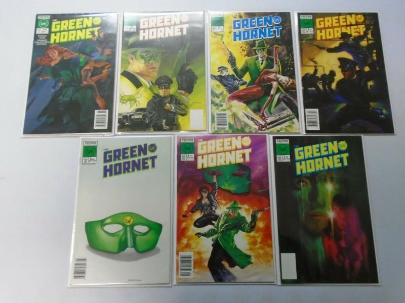 Green Hornet Run, From:#1-7, 8.0/VF (1989+1990)