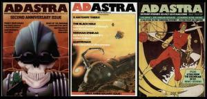 ADASTRA   7,12,13 LRon Hubbard, Bryan Talbot,Quatermass
