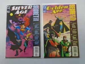 Golden Age + Silver Age Secret Files 8.0 VF (2000+01)