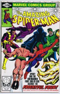 Amazing Spider-Man #214 ORIGINAL Vintage 1980 Marvel Comics Frightful Four