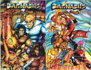 BARNABUS SINS OF HONOR (1993 CAP UP STUDIOS) 1-2 COMICS BOOK