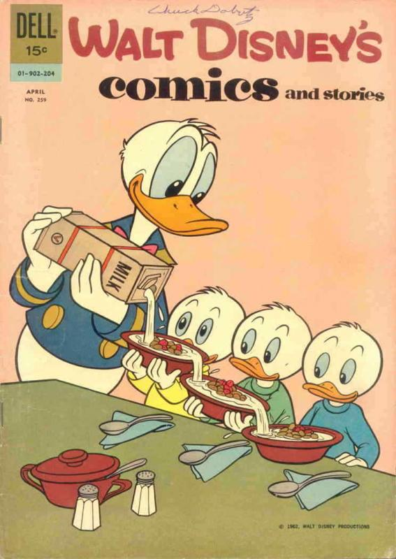 Walt Disney's Comics and Stories #259 VG; Dell | low grade comic - save on shipp