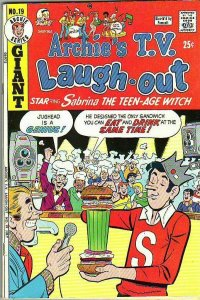 Archie's TV Laugh Out # 19 Strict VF/NM High-Grade Sabrina the Teenage Witch