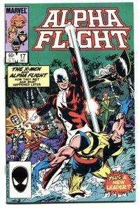 ALPHA FLIGHT #17-WOLVERINE-MARVEL-MUTANTS! VF/NM