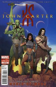 John Carter: The World of Mars #4 VF/NM; Marvel | save on shipping - details ins