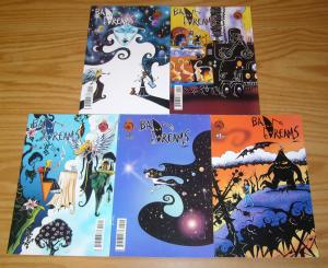 Bad Dreams #1-5 VF/NM complete series - red 5 comics  set lot 2 3 4 gary winnick