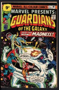 MARVEL PRESENTS #4 1975-GUARDIANS OF THE GALAXY-PENCE VARIANT