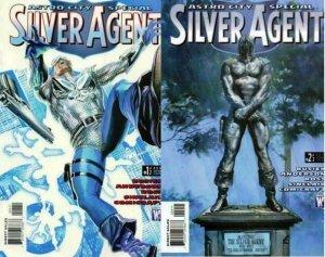 ASTRO CITY SILVER AGENT (2010 WS) 1-2  COMPLETE! COMICS BOOK