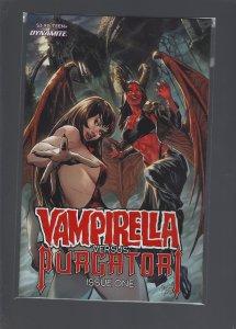 Vampirella VS Purgatori #1 Cover B