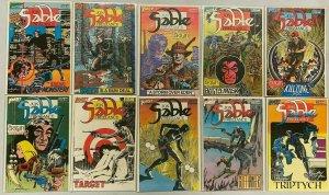 Jon Sable freelance full set#1-56 56 difference avg 8.5 VF+ (1983-88)