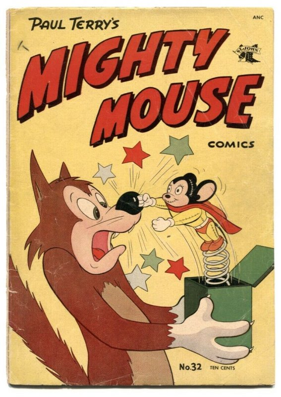 Mighty Mouse #32 1952- Golden Age comic G-