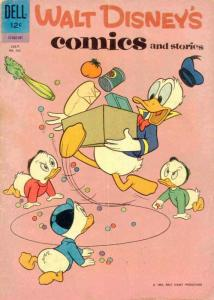 Walt Disney's Comics and Stories #262 VG; Dell | low grade comic - save on shipp