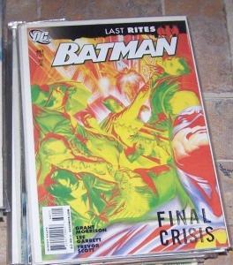 Batman #682 (Jan 2009, DC) FINAL CRISIS LAST RITES RIP GRANT MORRISON