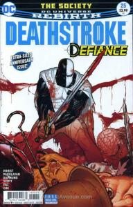 Deathstroke (3rd Series) #25 VF/NM; DC | save on shipping - details inside