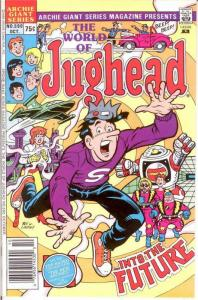 ARCHIE GIANT SERIES (1954-1992)590 VF-NM WORLD OF JUGHE COMICS BOOK