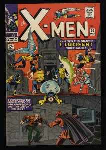 X-Men #20 FN/VF 7.0 White Pages