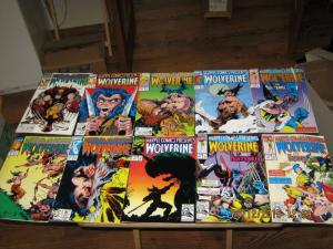 Marvel HUGE!! 25 MIXED LOT WOLVERINE/GHOST RIDER COMICS NM (SIC294)