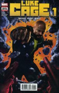 Luke Cage #1 VF/NM; Marvel   save on shipping - details inside