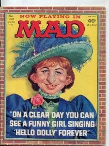 Mad-Magazine-#143-1971-Mingo-Mort Drucker-Don Martin-David Berg