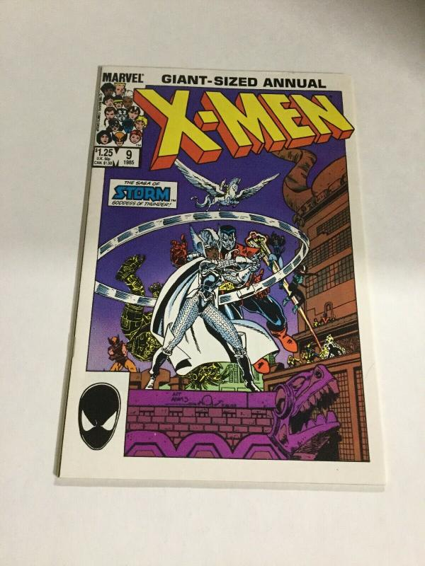 Uncanny X-Men Giant Sized Annual 9 Fn/Vf Fine/Very Fine 7.0 Marvel