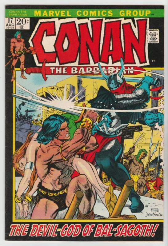 Conan the Barbarian #17 (Aug-72) VF/NM High-Grade Conan the Barbarian