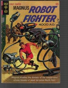 Magnus Robot Fighter #11 (Dell, 1965) F+