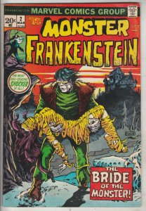 Frankenstein, the Monster of #2 (Mar-73) VF+ High-Grade Frankenstein