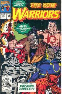 New Warriors (1990 series) #21, NM- (Stock photo)
