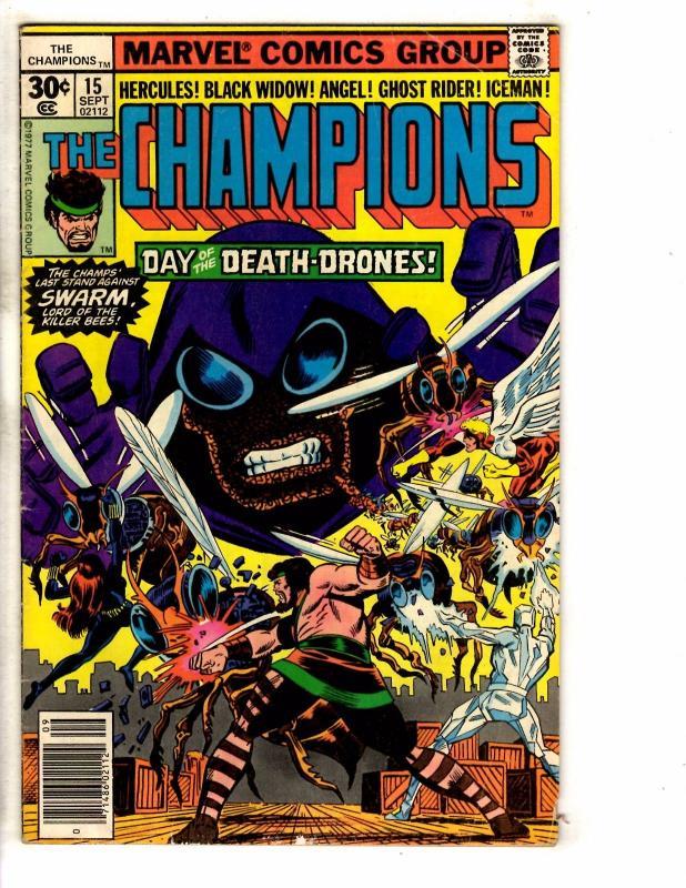 6 Marvel Comics Champions 15 16 X-Terminators 1 2 John