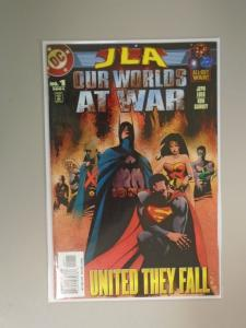 JLA Our Worlds at War (2001) #1, 8.0/VF (2001)