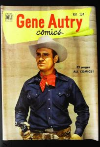 Gene Autry Comics (1946 series) #51, Fine+ (Actual scan)