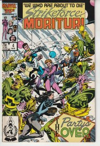 Strikeforce Morituri # 4  We Who Are About To Die !