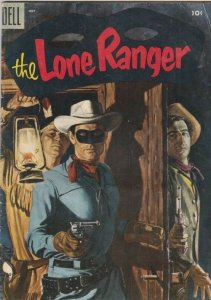Lone Ranger, The 85 strict 1955 FN- Mid-High-Grade The Lone Ranger, Tonto,Silver