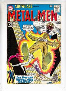 Showcase #40 (Oct-62) FN Mid-Grade The Metal Men (Gold, Lead, Mercury Iron, T...