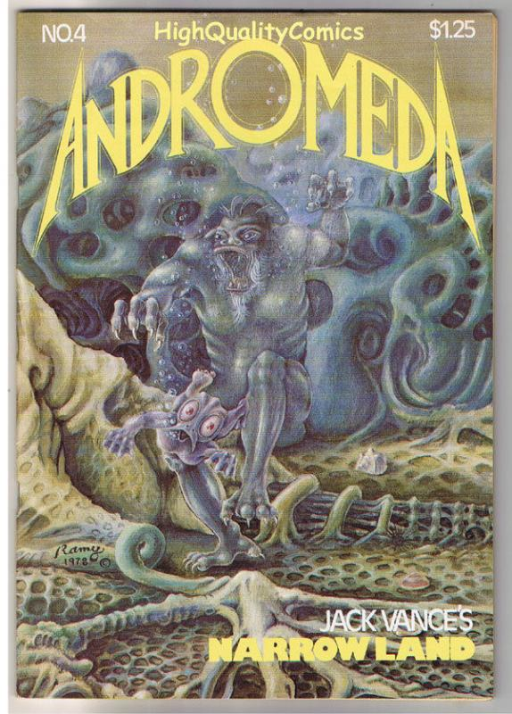 ANDROMEDA #4, VF, Jack Vance,1st, Narrowland, We Die, 1977, more UG in store