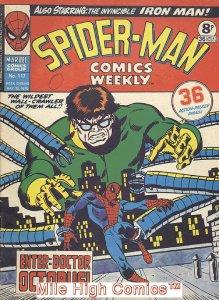 SPIDER-MAN WEEKLY  (#229-230) (UK MAG) (1973 Series) #117 Good