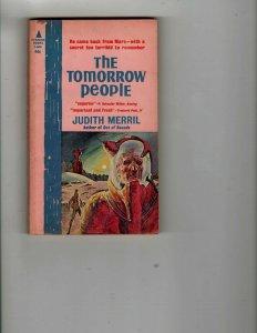 3 Books The Tomorrow People Cage Me A Peacock Hero's Walk Sci-Fi Mystery JK35
